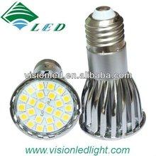 hotsales 24 pcs 5050 SMD MR16 LED spot light / smd led lamp 5w 12v