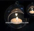 suspensão votiva claro esfera de vidro pendurado vela titular vela atacado