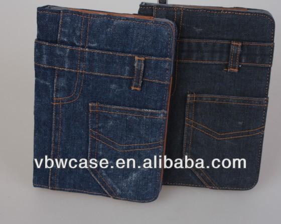 2014 for ipad mini case, casing for ipad mini, denim case for ipad mini