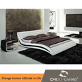3009 branco cama king size, Plataforma cama moderna, Adolescente moderna camas