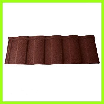 color asphalt stone coated metal roof sheet
