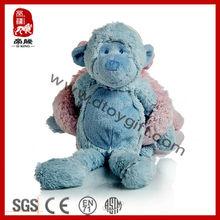 Wholesale Super Soft Plush Baby Comforter Toy Monkey