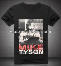 Mike Tyson Europe Casual T-shirt Custom Logo New Fashion Male Sport Short-sleeve 100% Cotton T shirt Good Quality