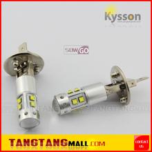 12V 24V white amber yellow red blue H1 H3 880 881 T10 T15 BA9S auto car fog light bulb 50W h1 cree car led