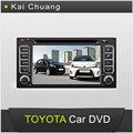 6.2 pulgadas de pantalla táctil salpicadero toyota 4 runner de coches reproductor de dvd gps con bluetooth radio usb swc aux-in