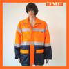 Security jacket hi vis clothing for big man
