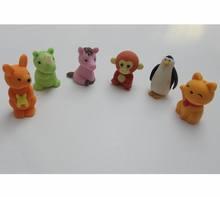 animal shaped eraser, novelty eraser, promotional eraser