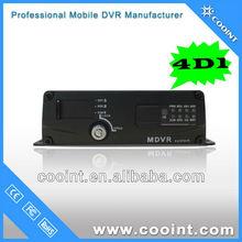 Linux CCTV vehicle DVR 4D1 3g live footage with G sensor GPS track solution