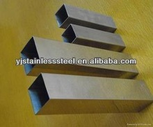 Hot promotion!! Decorative 201 Stainless Steel Square Pipe Manufacturer