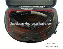 China No.1 eyeglasses case for many glasses, wine glasses carrying case,double glasses case