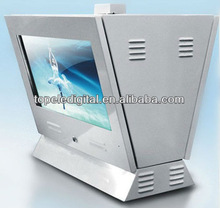 22 inch Double side LCD screen / LCD monitor usb media player