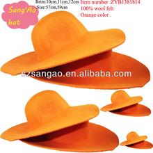 wholesale Popular fedora women's capelines hats felt wool sombrero lana caps wear in festival ,Party,Winter for ladies new
