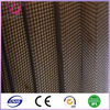 China black waterproof fold window screen mesh