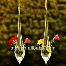 elegant decoration hand blown antique glass vases