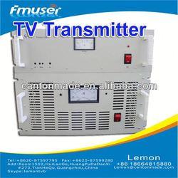 Low price UHF PAL/NTSC standard 300W analog TV Transmitter radio station equipment list A3