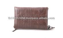 Latest Design of Crocodile HornBack for 2014 Men Handbags