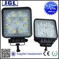 Led luzes de empilhadeira com 10-30v 4x4 megnetic diodo emissor de luz de trabalho para 27w faróis para tractor agricultura maquinários da lâmpada