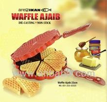 areIKAN waffle pan (Waffle Ajaib)