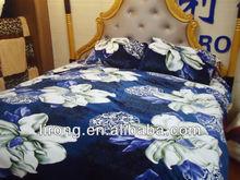 Printed comfortable fleece blanket