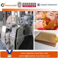 Ruian Wenzhou High Speed Fully Automatic Sharp Bottom Food Kraft Paper Bag Making Machine