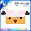 fancy pencil bag/plush cow pencil bag/fashion pencil bag for kids