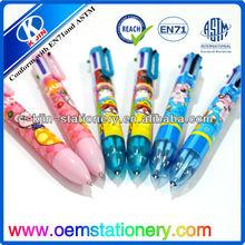 13.5CM gift balll pen /floating ball pens/ promotional ball pen for children