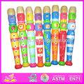 2015 yeni ahşap oyuncak flüt, popüler tahta flüt oyuncak, yüksek kaliteli ahşap oyuncak flüt wj278423