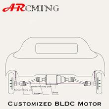 Customized Brushless motor for car