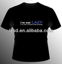 I'M NOT LAZY - Funny mens t-shirt ,High quality short sleeved O-neck Custom logo, make your own shirt ,100%Cotton