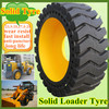 Easy Installation Large Construction Solid Loader Tyres 23.5x25 With Long Life