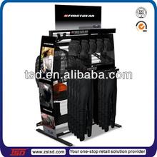TSD-M880 exclusive store freestanding double-side female jean metal display stand,jeans display rack metal,store display rack