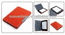 Case With Magnetic Wake For Amazon Kindle Whitepaper PU Leather Cover