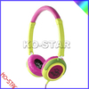colourful headphones with high quality fashion design for children headphone
