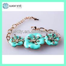 China New arrive fashion women rainbow loom bracelets new fashion p a n d o r a bracelet