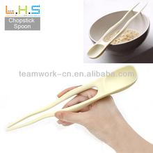 Plastic wedding gift chopsticks spoon Chopstick Whoesale