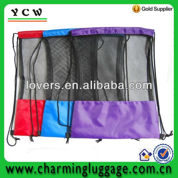 mesh shoe bags/drawstring shoe bag