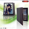 2014 Top quality canvas case for ipad mini, Fashion bookstyle canvas case for ipad mini