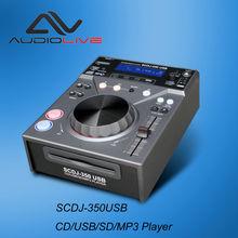 SCDJ-350USB Hot Sales CD/USB/SD DJ mixer player
