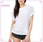 Wholesale 100% Cotton Solid Color Latest T Shirt Designs For Women