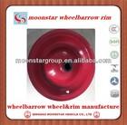 steel rims 4.00-8,peru wheelbarrow wheel rim