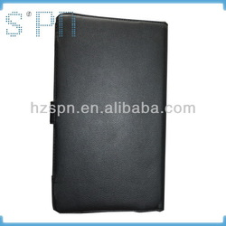 Design branded leather case for 7.9 inch tablet pc