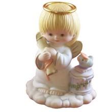 New product handmade cute Ceramic angle statue