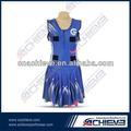 moda e lindo vestido netball esportes para meninas