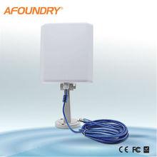 2.4ghz high power wireless outdoor usb adapter with 14Dbi USB Wifi Panel Antenna
