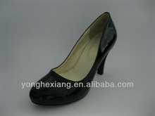 Stylish ladies high heels rubber shoes