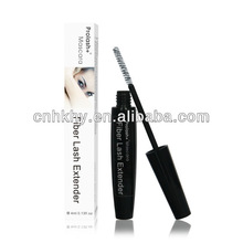 Deep black/white organic formula natural fiber mascara,cosmetic fiber mascara,eyelash extension mascara