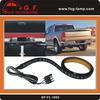"""60"""" Red & White LED Tailgate Light Bar for Trucks"""