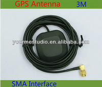 GPS Antenna with Two Amplification Car DVD Navigation GPS Active Antenna 3m Meters SMA Interface