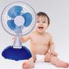 2 in 1 6 inch mini clip fan