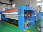 LJ Gas/Electric/Steam heaing laundry roller iron & sheet ironing machine